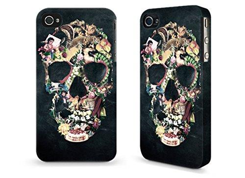 """Hülle / Case / Cover für iPhone 4 und 4s - """"Vintage Skull"""" by Ali Gulec"""