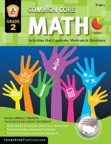 Common Core Math Grade 2: Activities That Captivate, Motivate & Reinforce