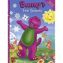 barneys four seasons barney - Barney Coloring Book