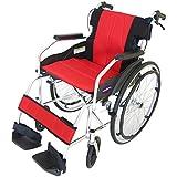 カドクラ 自走式車椅子 折りたたみ 軽量 チャップス イタリアンレッドA101-AR