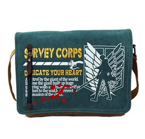rare Schultertasche Tasche Shoulder Bag Rucksack reisetaschen Flügel Feathers Attack On Titan new