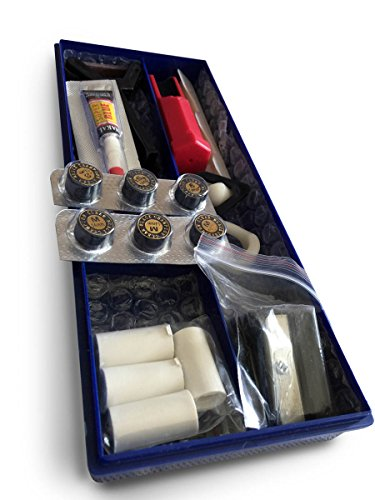 Premium Pool Cue Tip Accessory Repair Kit for Billiard Stick Tips
