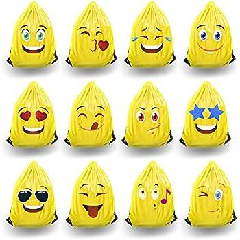 Amazon.com: Kids RMore Mochila Emoji Bolsas de fiesta para ...