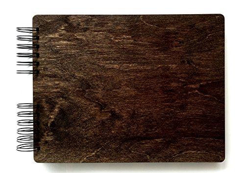- Wooden Rustic Guest Book 11