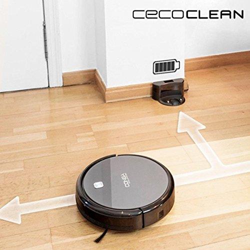 Robot Aspirador con Mopa y Depósito de Agua Cecoclean Excellence 5042 0,3 L 64 db 25W Gris Negro: Amazon.es: Ropa y accesorios