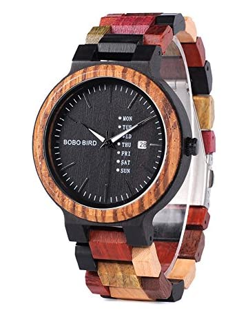 82df00884eb Men s Colorful Wooden Watch