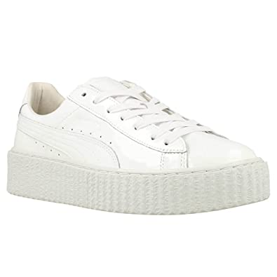 wholesale dealer 0f068 a58b9 PUMA Womens Basket Creepers Glow Rihanna