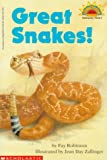 Great Snakes!, Fay Robinson, 0590262432