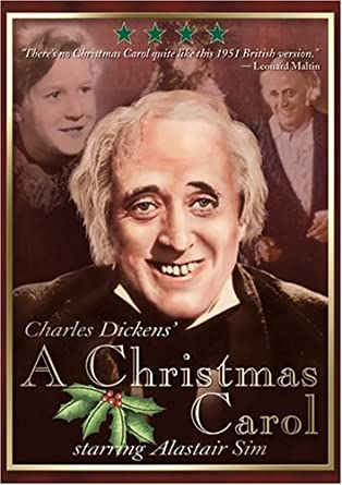 Amazon.com: A Christmas Carol (Original B&W Version): Alastair Sim ...