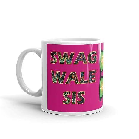 Family Shoping Birthday Gifts For Sister Bhaidooj Swag Wali Sis White