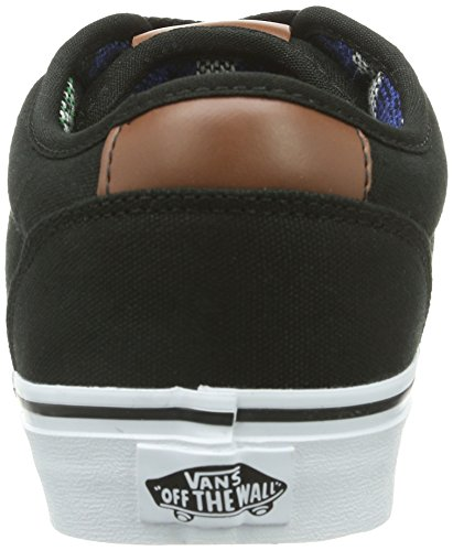 Vans M ATWOOD DELUXE (Suede), Sneakers da Uomo Nero (Noir (Black/Guatemala))