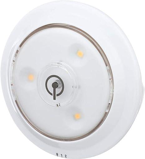 Rite Lite Lpl623wxll Led Puck Light With Optional Light Sensor 3 Pack White Amazon Com