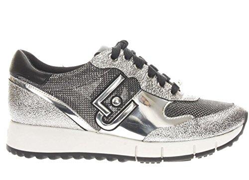 MOD Col Silver Linda DS18LJ05 Sneaker Argento Liu Donna Scarpe Jo Running TC 45 aAz80