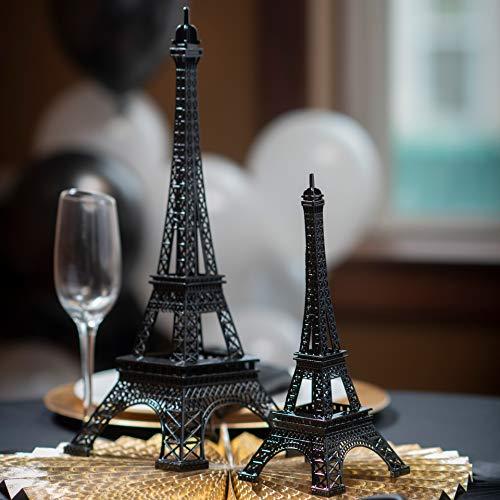 Shindigz 15 inch Eiffel Tower Centerpiece Black