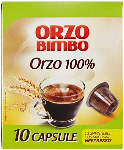 OrzoBimbo Capsule SOLO ORZO 100% – Compatibili con macchine Nespresso ® – confezione da 10 capsule monodose