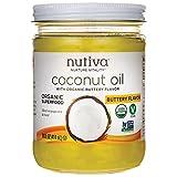 Nutiva - Organic Refined Coconut Oil Buttery Flavor - 14 oz.