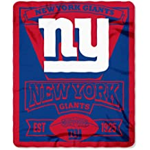"NFL Marque Printed Fleece Throw, 50"" x 60"""