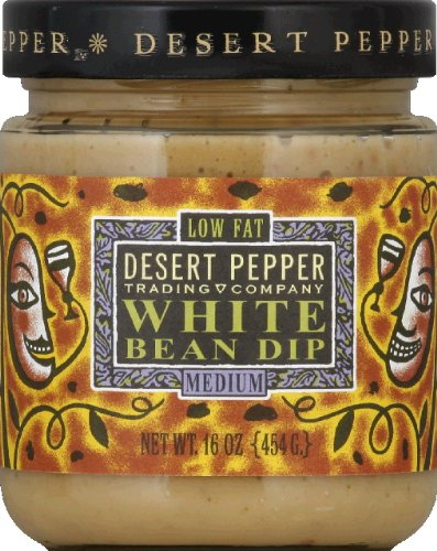 Desert Roasted Pepper Salsa (Desert Pepper Trading Tuscan White Bean Dip, 16 Ounce - 6 per case.)