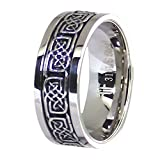 Fantasy Forge Jewelry Celtic Knot Stress Reliever Stainless Steel Spinner Ring Size 6