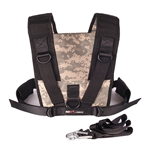 Mir SLED HARNESS WITH (OPTIONAL) SLED (DESERT CAMOUFLAGE HARNESS, WITHOUT SLED)