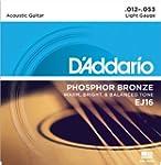 D'Addario EJ16 Phosphor Bronze Light...