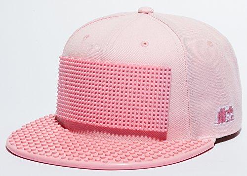 Snapback Baseball Cap Lego compatible Brick Brick Gear, Pixel, Pink