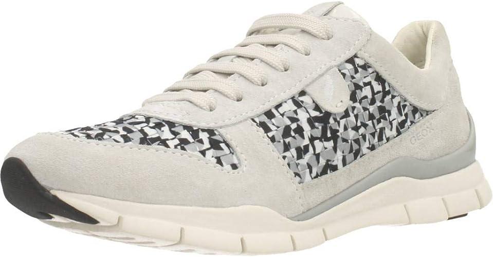 Imperialismo Antología ozono  Geox Women's D Sukie a Sneaker: Amazon.co.uk: Shoes & Bags