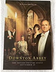 "DOWNTON ABBEY - Original Movie Postcard D/S 4""x6"" 2019 Maggie Smith PBS"