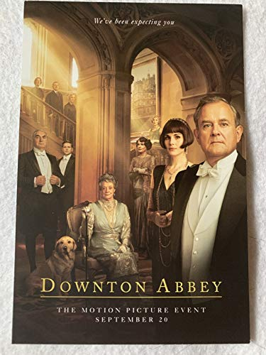"DOWNTON ABBEY - Original Movie Postcard D/S 4""x6"" 2019 Maggie Smith PBS"