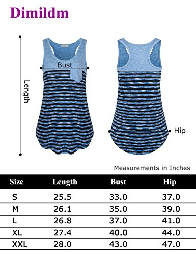 Dimildm Racerback Tank Tops for Women, Juniors Workout Clothes Vintage Scoop Neck Athletic Wear Fitness Exercise Shirts Tee Sleeveless Loose Fit Tunic Tank Top (Carbon Grey,M) by Dimildm (Image #6)