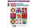 Leisure Arts 100 Any-Size Flower Blocks Bk