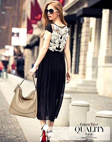 à Sac Sac Simple Mode Cuir Marque PU Main bandoulière Souple SDINAZ Cuir Femme Femme Besace Sac Khaki Sac SzExB