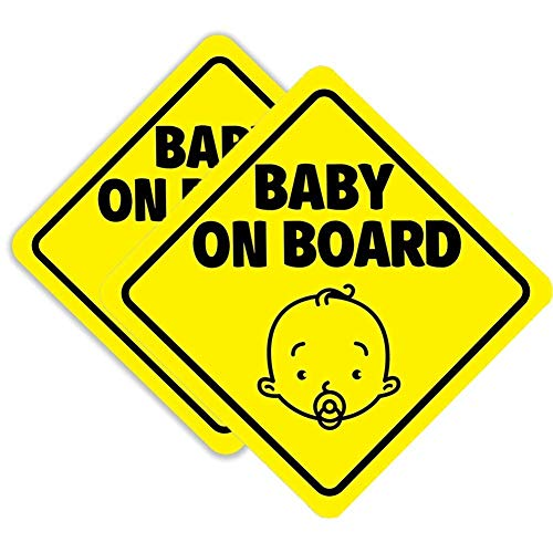 safety 1st baby on board sign - 5