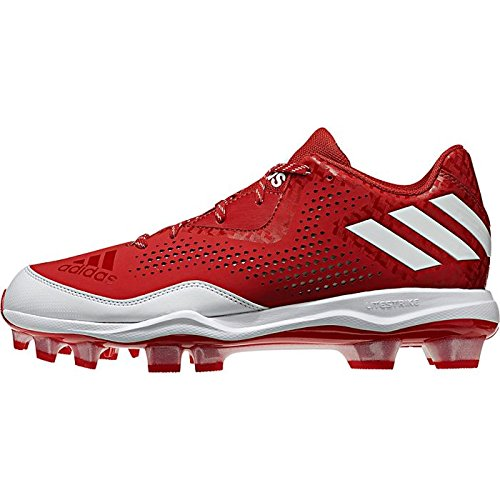 white Women's W Red Tpu Performance Shoe Softball adidas Power 4 Poweralley ZIq4nwxv