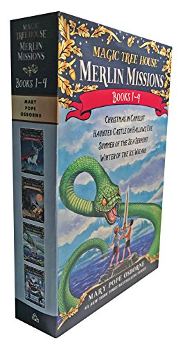 Magic Tree House Merlin Mission 1-4 Boxed Set (Magic Tree House (R) Merlin Mission)]()