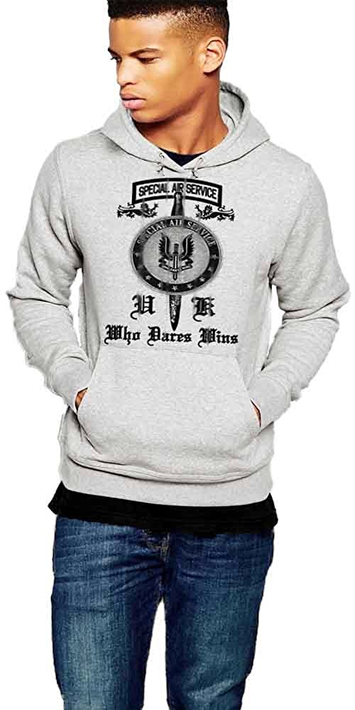 British SAS Hoodie Who Dares Wins Pullover By Warface Apparel