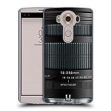 Head Case Designs Thunderbolt Camera Lens Soft Gel Case for LG V10