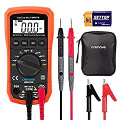 Crenova MS8233D Multimeter is an Auto-Ranging Digital Multimeter  *The Digital Multimeter, as general measurement tool, is widely used in the school, laboratory, factory and other social field.  *The equipment is used for measurement in build...