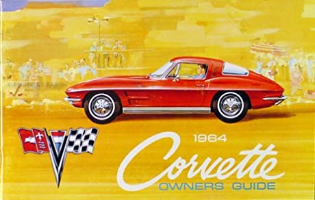 1964 corvette owners manual with decal gm chevrolet chevy rh amazon com corvette owners manual 2014 corvette owners manual case