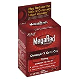 MegaRed Omega 3 Krill Oil 350mg Supplement, 65 ct