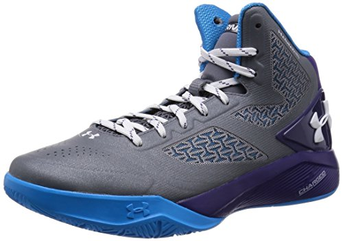 Under Armour Clutchfit Drive 2 Basketball Scarpe Graphite/Purple/Capri