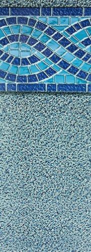 Liner Vinyl Gauge 25 (Smartline Aspen Creek 27-Foot Round Liner   UniBead Style   52-Inch Wall Height   25 Gauge Virgin Vinyl   Designed for Steel Sided Above-Ground Swimming Pools)