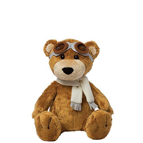 Manhattan Toy Aviator Bear Plush - Features Aviator