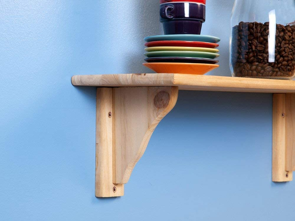 pine Unfinshed Core Products Shelf Kit