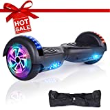 EPCTEK Hoverboard Self Balancing Scooter Smart Scooter for Kids Adults with UL2272 Certified Wheels LED Light Carry Bag