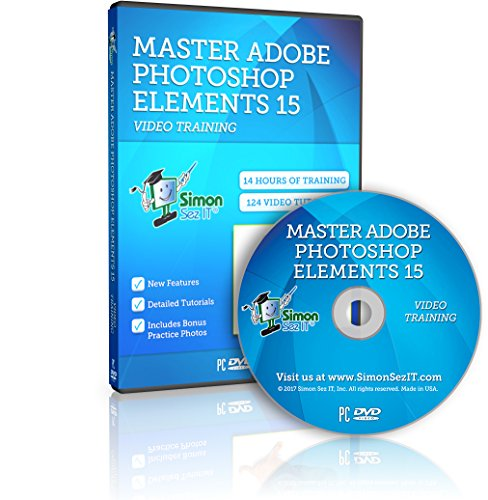 Adobe Photoshop Elements 15 Training Course for Beginners: Essential Training by Simon Sez IT