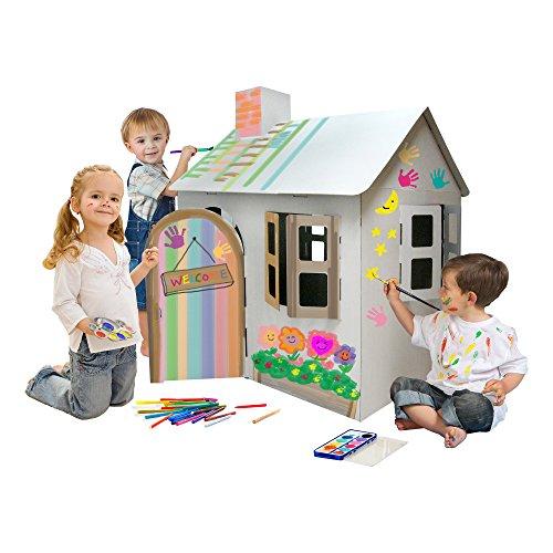 Fat Catalog ALT-ERU1007-SO Cardboard Coloring Craft, Kid-Sized ...