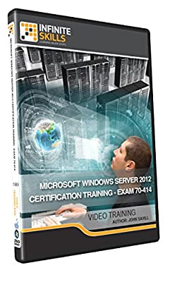 Microsoft Windows Server 2012 Certification Training - Exam 70-414 -Training DVD