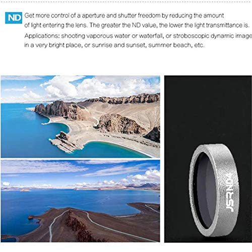Accessories MuqGew Parts 4PC UV CPL ND8 ND16 Lens Filter for Parrot ANAFI Drone Gimbal Camera Lens Component Supplier Color: I, Delivery from 15 to 20 Days
