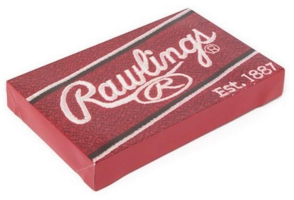 Quagga Rawlings MLB Baseball Dyed Yarn Traveling Bears Pattern Throw Blanket 70 x 53